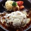 ロータリー - 料理写真:ランチ「チーズハンバーグ」