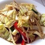 17923354 - 鶏せせりの野菜炒め