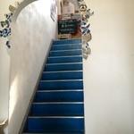 青い鳥のレストラン - この青い階段のぼります♩