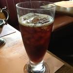 ビッグジョー - 食後のアイスコーヒー。