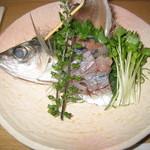 玄海鮨 - 鯵刺し