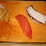 玄海鮨 - 生鮭、鮹