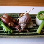 料理屋くおん - ☆八寸なスタイルの前菜です☆