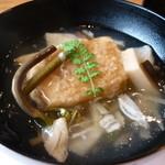 料理屋くおん - ☆胡麻豆腐の揚げ出し餡かけは湯葉ちゃんも一緒に☆