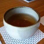 料理屋くおん - ☆温かいお茶をゴクリ(^u^)☆