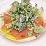 HAKATA Trattoria BISTRO ONO - 生ハムとクレソンのサラダ