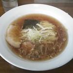 日本一ラーメン - 料理写真:日本一ラーメン(醤油)