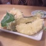 17928754 - 天ぷら、りんごの天ぷら、甘いです!