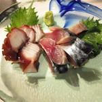 17929093 - 蛸と〆鯖