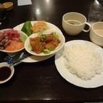 にしふじ - あっさりランチ(平日)