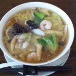 17929683 - 海鮮湯麺850円