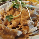 Kuu - 冷豚しゃぶ定食