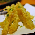 17931839 - 島らっきょの天ぷら(ハーフサイズ)