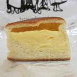 breadworks - カスタード 断面