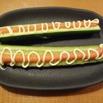 しゃぶしゃぶ 温野菜 - 明太載せキューリ