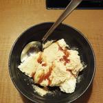しゃぶしゃぶ 温野菜 - バニラアイス & きな粉