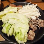 しゃぶしゃぶ 温野菜 - お鍋でレタスが意外に美味