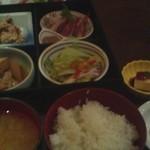 やるき茶屋 - 本日の日替わり定食(¥750-)
