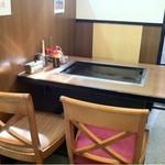 ひかり - テーブルとカウンター