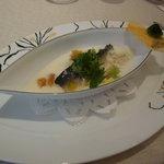 グランメゾン グラシアニ - 若鮎の低温コンフィ