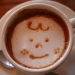 anea cafe - ランチセットのカフェラテ