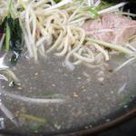 ラーメン青木亭 - 黒塩のスープ