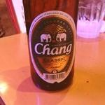 バーン・キラオ - チャーンビール。 これも、火消し。