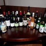 TOWER - こだわりのワインと日本酒、梅酒、焼酎、ウィスキーなどあり