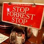 ババ・ガンプ・シュリンプ - STOPが店員さんを呼ぶ合図