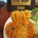 レストランバー YUME - ナスのトマトパスタリフトアップ