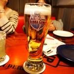 ババ・ガンプ・シュリンプ - バドワイザーの生ビールLサイズ