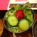 デリー - セットのサラダその2