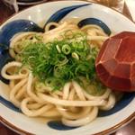 銀三 - かけうどん(450円)