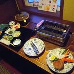 かわなみ - 夕食は個室風?