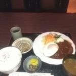 富士美 - ハンバーグ定食 800円