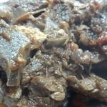 モモカ - 鹿肉は結構なボリューム。