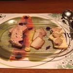 ラ・ムジカ - ワインが進む三種の神器 (自家製ムース、自家製ベーコン、パテドカンパーニュ) (2013/03)