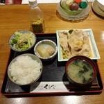 くうや - 豚ロース生姜焼きランチ800円