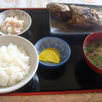 津軽海峡亭 - 焼き魚定食@1000円です