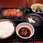 ゲンカツ - ゲンカツランチ膳 1290円