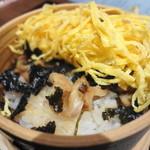 雲風々 - 蒸し寿司の玉子の下は・・・・