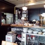 パーレンテッシ - ごちゃっとした厨房