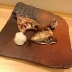 17963269 - のどぐろ&鳥取産どんちっち鯵★金重巌氏の備前焼