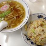 中華タカノ - ラーメン&半チャーハン