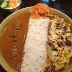 けらら - ダブルセット(ビーフ&なすとトマト+炙りチーズ)