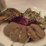 17966230 - 前菜のいわしのマリネ・レバーペーストのクロスティーニ・かぼちゃのグリル