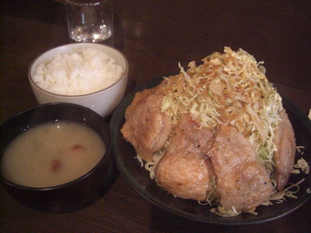 Kaneki-Tei - 豆腐+なめたけ汁