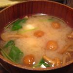 紅亭 - 味噌汁