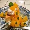 イフ - 料理写真:チーズケーキ オレンジ添え