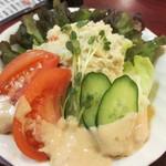 加賀屋 - ポテトサラダ 550円